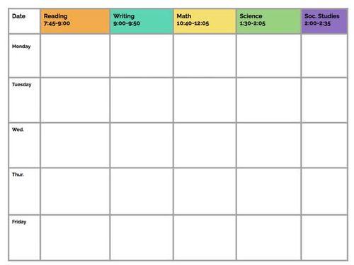 Lesson Plan Templates Editable Google Slides Play
