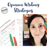 Opinion Writing Strategies FREE Introduction (Brainstorming)