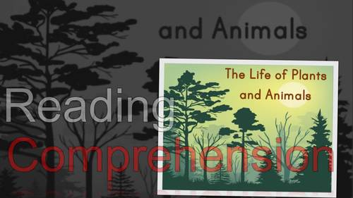 ⭐Science Lessons ❘ Life Science Powerpoint ❘ Leveled Reading ❘ Plants & Animals