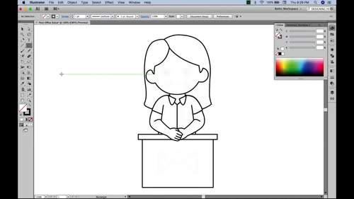 Behind The Scenes: Designing A Kid Character {Zip-A-Dee-Doo-Dah Designs}