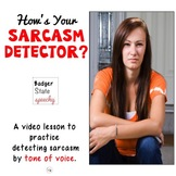 Detecting Sarcasm in Tone of Voice
