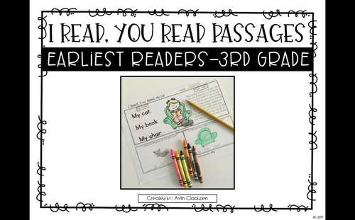 Reading Passages for Home or School: 3rd Grade Edition