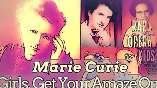Women Scientists: Marie Curie Famous Women in History Reading Activities & Song