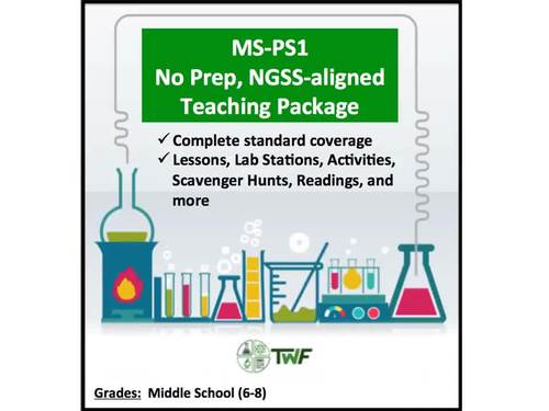 NGSS - MS-PS1 - Matter and its Interactions - Complete Resource Package