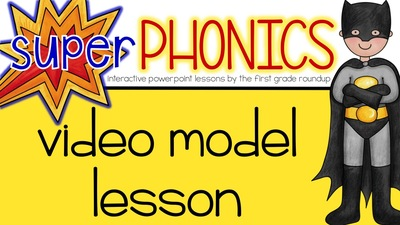 Phonics Interactive PowerPoints How To Model Lesson Video and Routines