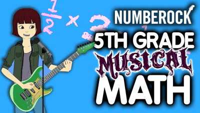 5th Grade Musical Math: All Games, Songs, Videos, Worksheets & Word Problems