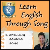 English Spelling Sounds Song - LETSLETS