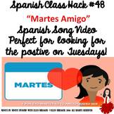 Spanish Class Hack #48 Martes - for a TCI, CI and 90% Targ