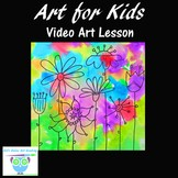 Video Art Lesson: Learn to Draw and Watercolor Paint a Wil