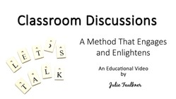 Classroom Discussions, Tips, Strategies, and Benefits, Video for Teachers