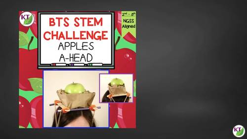 Back to School STEM Challenge: Apples A-head