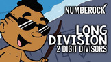 ♫♪ Long Division ♫♪ 2 Digit Divisors Song and Animated Vid