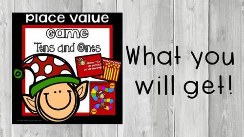 Place Value Game 1st Grade