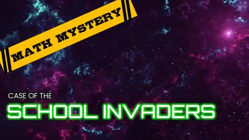 5th Grade Beginning of the Year, Back to School Math Mystery - 4th Grade Review