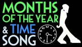 Units of Time Song ♫♪ Featuring How Many Days Are in Each Month
