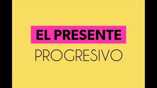 Spanish Video for the Present Progressive