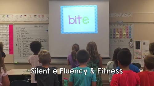 Silent e Fluency & Fitness Brain Breaks