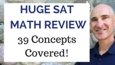 Huge SAT Math Review Video Course