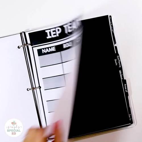 Simple IEP Planner