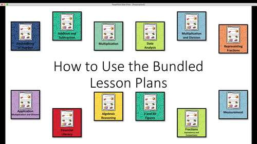 Foundations of Number Guided Math Lesson Plans 3.2A, 3.2B, and 3.2D