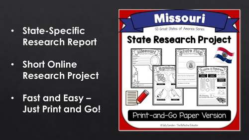 State Research Project: MISSOURI (Print-and-Go Paper State Report)