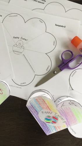 Easter Card for Kids to Make, Religious, Secular and Spring Themed Easter Craft