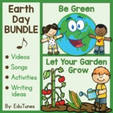 Earth Day BUNDLE: Videos, Songs (mp3's), Activities, & Wri