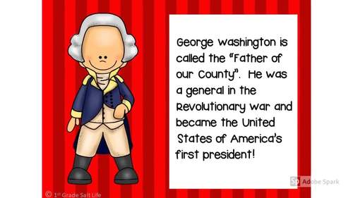 All about President George Washington