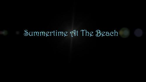 Summertime At The Beach - A Level 1 Piano Solo With Lyrics