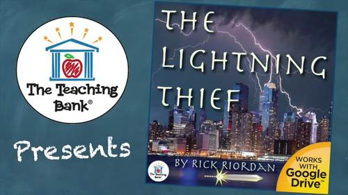 The Lightning Thief Novel Study Book Unit