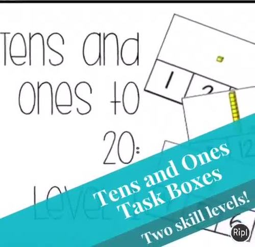 Tens and Ones Task Box
