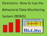 Directions- How to Use the Behavioral Data Monitoring Syst