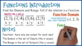 Functions (Domain & Range): Whiteboard Animation