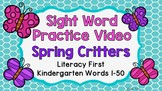 Sight Word Video & Slideshow, Kindergarten, Literacy First