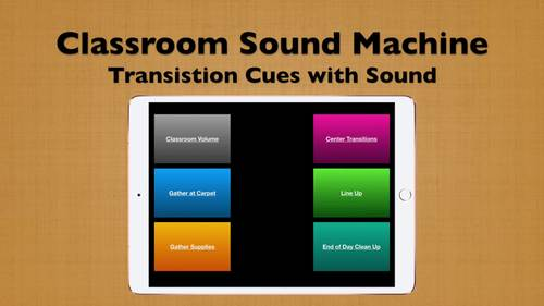 Classroom Transition Sound System - Class Management Tool