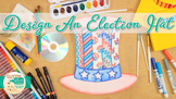 Election & Voting : Election Day Hat Art Project & Roll-A-