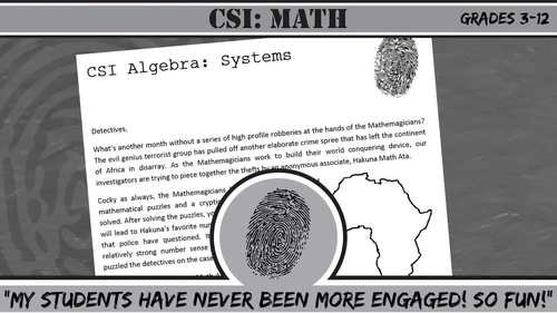 CSI: Elementary -- Unit 7 -- Fractions