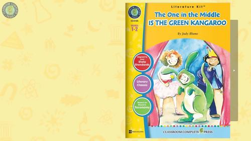 The One in the Middle is the Green Kangaroo - Literature Kit Gr. 1-2