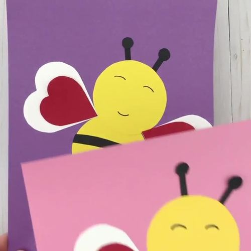 BEE mine craft - Valentine's Day bee craft