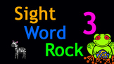 Sight Word Rock 3 Video (Fry's Sight Words 21-30)