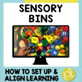 Sensory Bins! How to Set Up and Align Learning