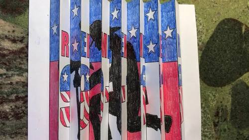 Patriot Day Activities and Crafts: September 11th Agamograph