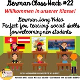 German Class Video Welcome New Student