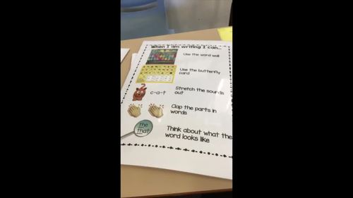 L3 Independent Writing Strategies Visual
