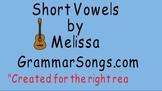 Vowel (Short Vowels) Song & Activities