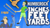 INCHES FEET YARDS Song ♫♪ Customary Measurements by NUMBEROCK