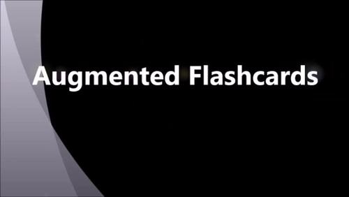 Augmented Flashcards - Time - 2