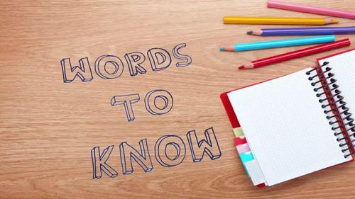 Words to Know Vocabulary Program for grades 4-8