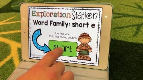 Exploration Station - Short e CVC Families