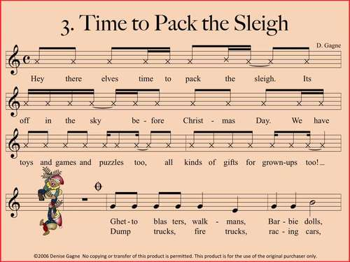 Time to Pack the Sleigh